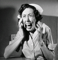 screaming nurse