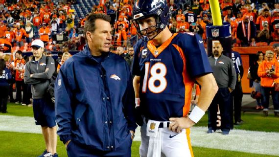 Peyton Manning: Four Super Bowls, four head coaches
