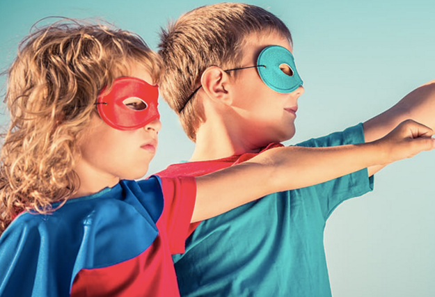 Want to Be Fearless? Find Your Inner Super Kid