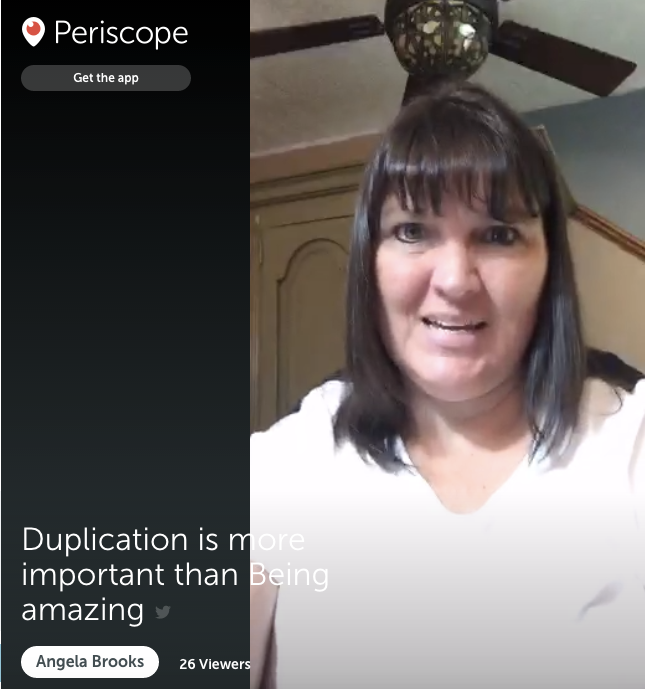 Duplication is more important than being amazing