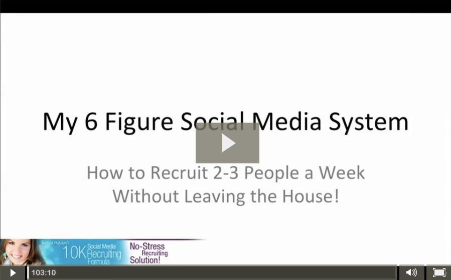 10K Social Media Recruiting Webinar