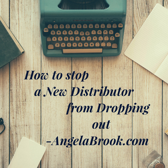 How to Stop New Distributor Dropout