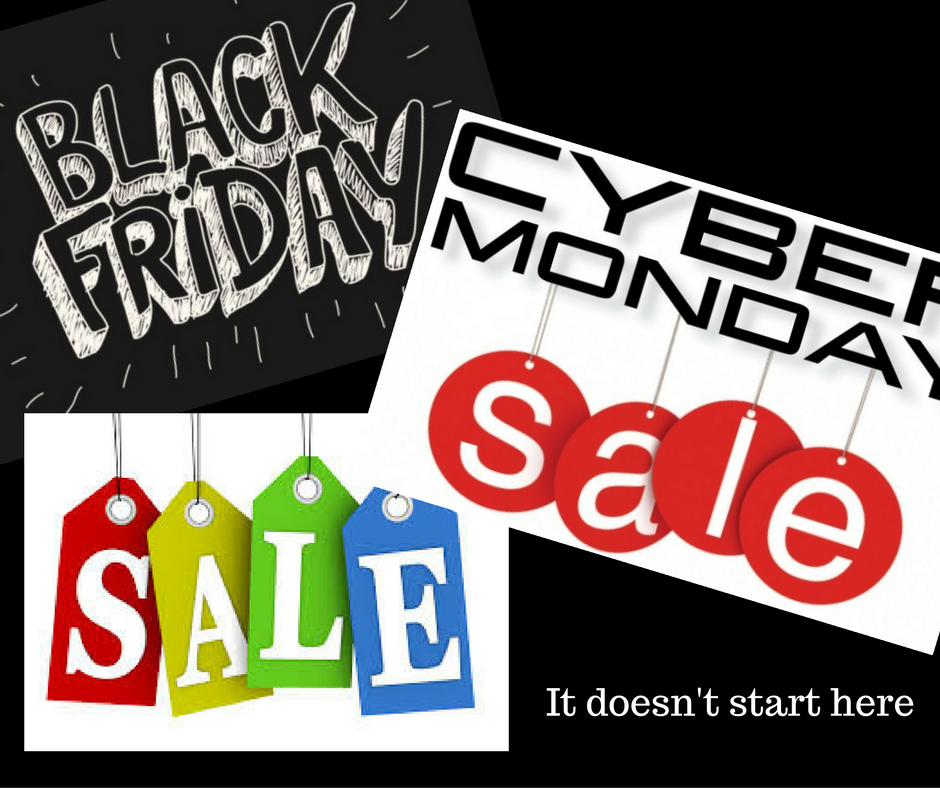 Stop worrying about Black Friday and Cyber Monday