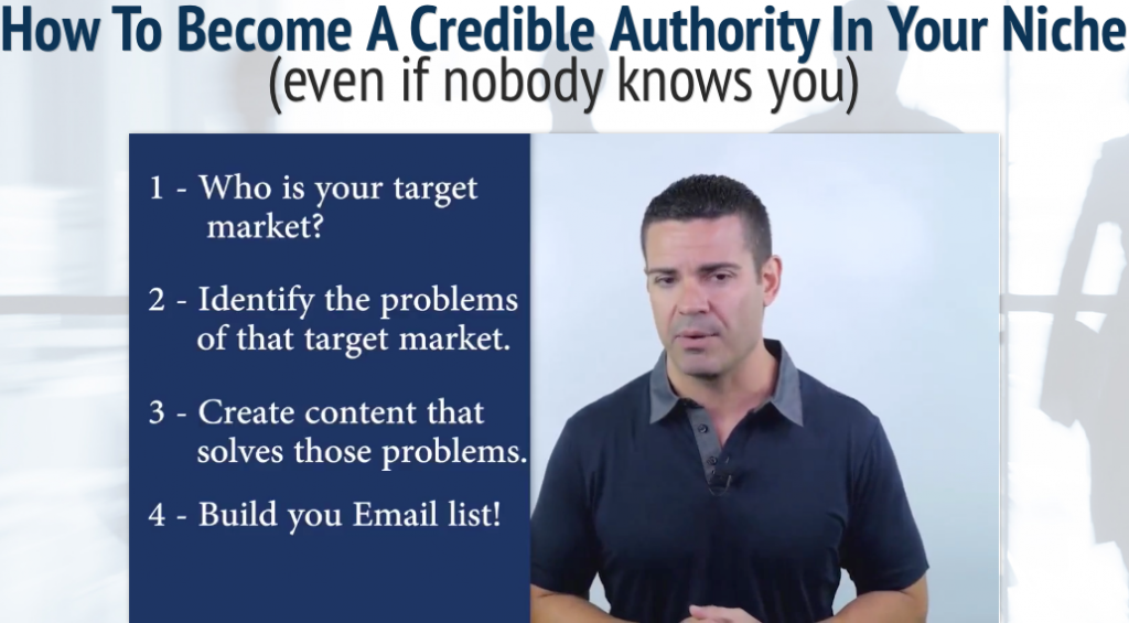Two tips how to become a credible authority in your niche without using the phone
