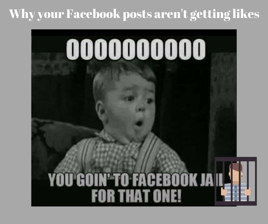 Why your Facebook posts aren't getting likes