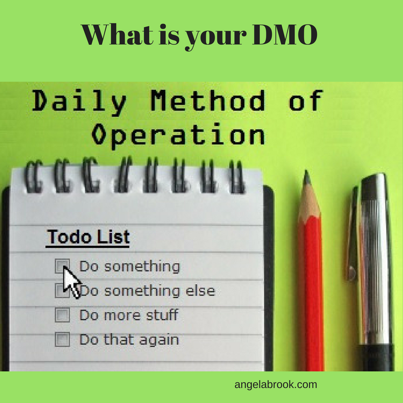 DMO Daily Method Of Operation for network marketers Entrepreneur