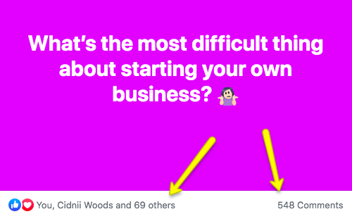 What is the most difficult thing about starting your own business?